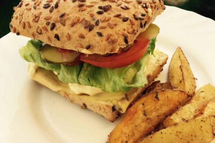 Idealny domowy burger