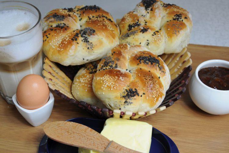 Bułeczki śniadaniowe – idealne
