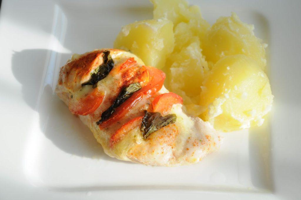 filet z mozarella