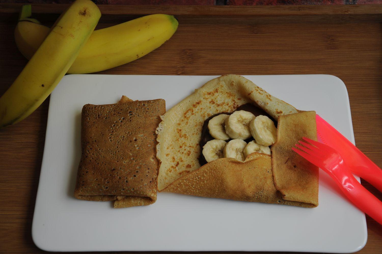 nalesniki z bananem