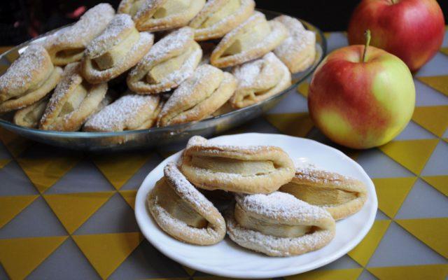 Uśmieszki – kruche ciasteczka z jabłkami