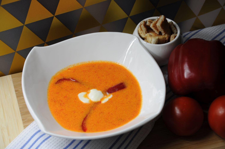 zupa krem z papyki