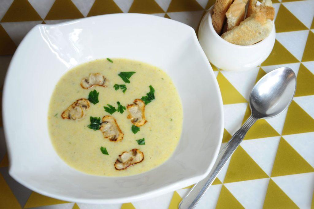 zupe krem z pieczarek