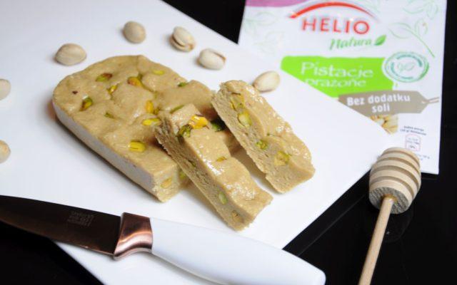 Najlepsza chałwa z prażonymi pistacjami od Helio