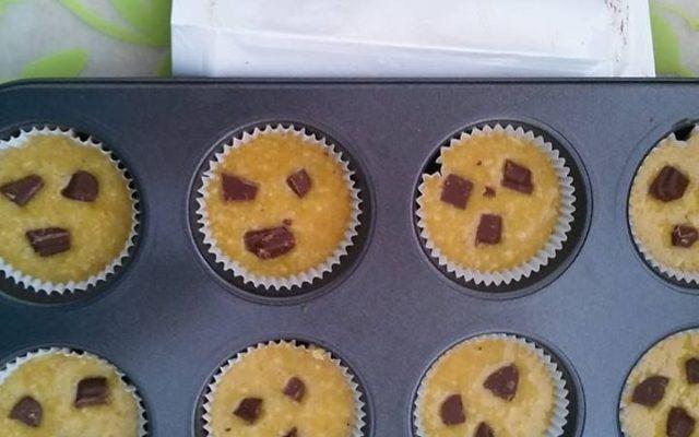 Muffiny dyniowe z kawałkami czekolady