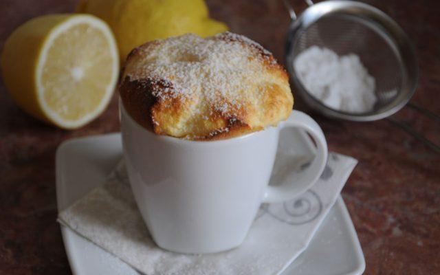 Suflet cytrynowy – deser w 15 minut