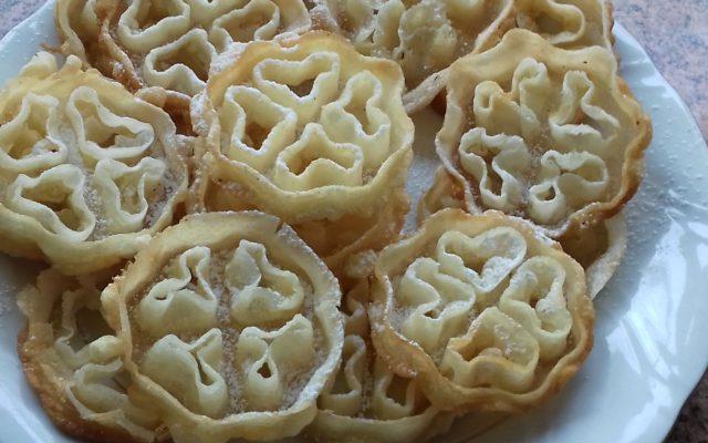 Ciasteczka rozetki