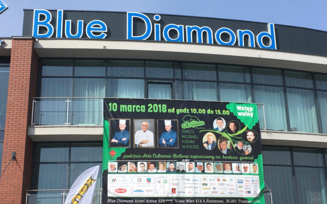 Arte Culinaria Italiana – XIII Konkurs Włoskiej Sztuki Kulinarnej 10 marca 2018 Blue Diamond Rzeszów