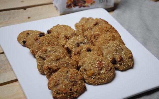 Ciasteczka amarantusowe z bakaliami